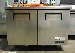 True Tuc 48 Commercial 48 Solid Door Undercounter Refrigerator