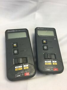 Lot Of 2 Fluke 8 Automotive Meter For Parts not Working