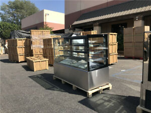 72 Deli Case Bakery Display Glass Refrigerated Commercial Nsf Etl Cooler Depot