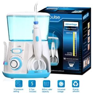 Waterpulse Water Jet Pick Flosser Oral Irrigator Teeth Cleaner Dental Care Scd