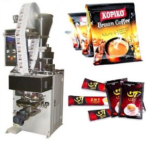 Sachet Sugar coffee salt powder Forming Filling Sealing Packing Machine
