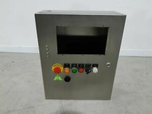 Hammond Manufacturing Hmi Control Panel Enclosure Hole 5 5 Inches used Tested