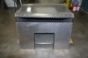 Stainless Steel Sound Chamber 48 x36 x30