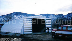 Durospan Steel 40x52x16 Metal Quonset Building Kit Ag Structure Factory Direct