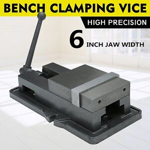 6 Lock Vise Milling Drilling Machine Bench Clamp Clamping Vice Prec