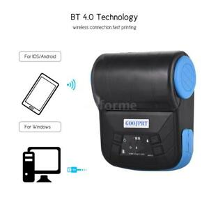 Wireless Bt 4 0 Pocket Mini Thermal Receipt Printer For Android Mobile 80mm O0i4