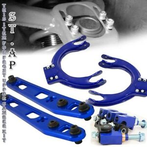 88 91 Civic Integra Ef Rear Lower Control Arm Lca Upper Front Camber Kits Blue
