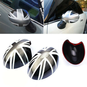 Accessories Side Mirror Covers For Bmw Mini Cooper Replacement 1 Pair Jack View
