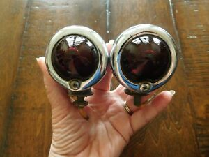 Vintage Brake Fender Lights Turn Signal Blinkers Motorcycle Harley Indian Ford
