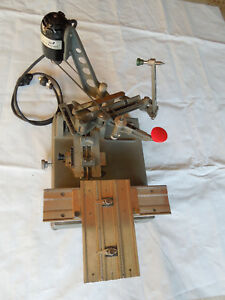 New Hermes Electric Engraving Machine used