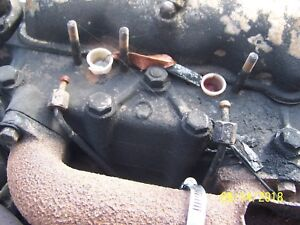 David Brown 990 Tractor Diesel 1 And 2 Injector Lines