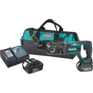 New Makita Xrh04 18v Lxt Lithium ion Cordless 7 8 Sds plus Rotary Hammer Kit