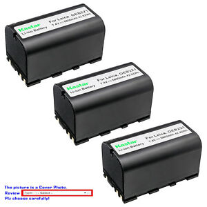 Kastar Replacement Battery For Leica Geb221 Leica Ts02 Ts06 Total Station