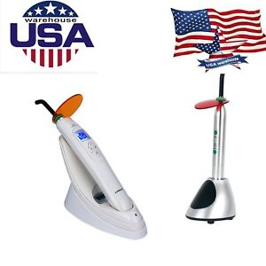 Usps Dental Wireless Led Curing Light Lamp 1800mw 2700mw Pro Rechargeable