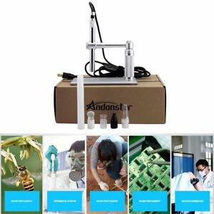 5mp Usb 500x 8 Led Digital Microscope Endoscope Magnifier Camera lift Stand Yt