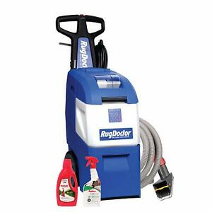 Commercial Carpet Cleaner Best Cleaning Machine Rug Doctor Pet Pro 64oz Bundle