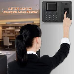 2 8 Biometric Fingerprint Password Attendance System Check in Time Clock My