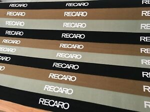 Aftermarket Tricolor Recaro Car Seat Fabric