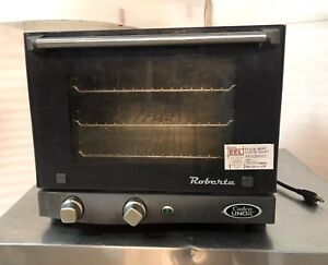 Cadco Roberta 1 4 Size Commercial Convection Oven Xaf003 Barely Used