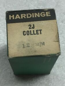 12 Mm Hardinge 2j Collet New Old Stock