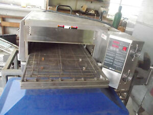 Holman Pizza Oven Um1850 240 Amp Works Electric Conveyor Pizza Oven With Stand