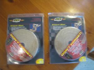 New Dei 010102 2 inch Header Exhaust Wrap Heat Shield 2 X 50 Ft Rolls