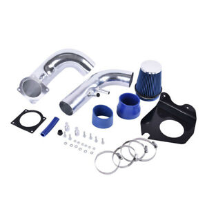 3 0 Cold Air Intake Kit W blue Filter For 96 04 Ford Mustang Gt 4 6l V8 Coupe