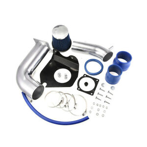 3 0 3 5 Cold Air Intake Kit W blue Filter For Ford 99 04 Mustang Base 3 8l V6