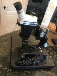 Bausch Lomb Sz4 Stereo Zoom Microscope 0 7x 30x With Boomstand And Ring Light