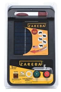 Zareba 5 mile Solar Low Impedance Electric Fence Charger Fencing Energizer New