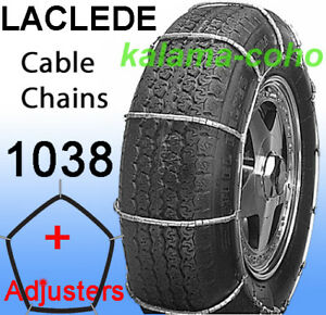 Laclede Cable Tire Snow Chains 1038