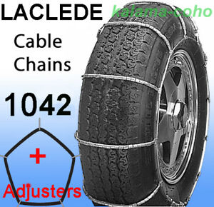 Laclede Cable Tire Snow Chains 1042 P245 70r14 P265 60r14 P275 60r14 235r15