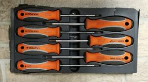 Matco Tools Top Torque Ii Orange Tamper Proof Torx Screwdriver Set used