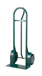 Harper Trucks 800 Lb Capacity Steel P handle Heavy duty Hand Truck With 10