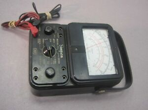Simpson 260 Series 5 Volt ohm milliammeter With Leads Parts repair