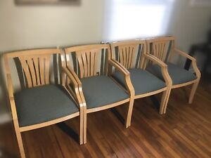 Hon Guest Waiting Room Chairs Set Of 4