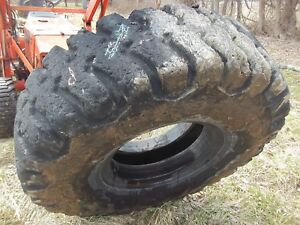 18 00 X 25 Bridgstone 36 Ply Used Loader Tire Industrial