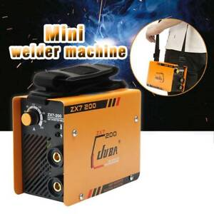 Zx7 200 Mini Mma Arc Welder Dc Igbt Welding Machine Solder Inverter 220v W Mask