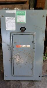 Federal Pacific 200 Amp Main Panel Box 120 240 Amp 1 Phase