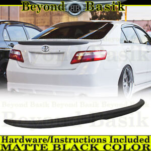 For Matte Black 2007 2008 2009 2010 2011 Toyota Camry Factory Lip Style Spoiler