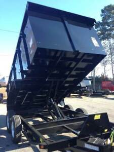 New Big Tex 14lx 14 000lb Gvw Dump Trailer With Monster 4 Sides