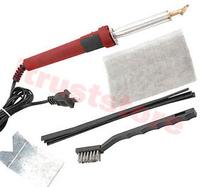 Plastic Welder Welding Tool Bender Former Heating Gun Iron Tpo Teo Pp Repair Kit
