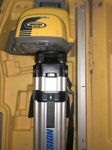 Spectra Precision Ll300n Self Leveling Rotary Laser Level Transit Topcon