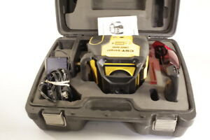 Cst berger Lm800 2800ft Self leveling Dual beam Dual slope Rotating Laser Set