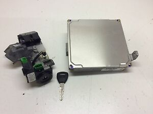 Honda Civic 03 Hybrid 37820 pza a57 Ecu Engine Computer Transponder Key