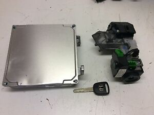 Honda Civic 04 05 Hybrid 37820 pza a64 Ecu Engine Computer Transponder Key