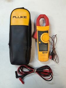Fluke 902 Hvac Amp True Rms Clamp Meter K type Test Leads And Case Ships Fast