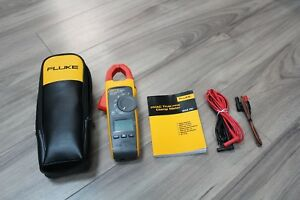 Fluke 902 Fc True rms Wireless Hvac Clamp Meter Cat Iii 600v Cat Iv 300v