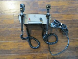 Welch Allyn 74700 Otoscope Ophthalmoscope Light Source Wall Transformer Works