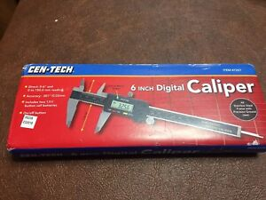 New Cen Tech 4 Inch Digital Caliper